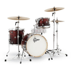 Gretsch Catalina Club Jazz 12/14/18 3pc Drum Kit Satin Antique Fade