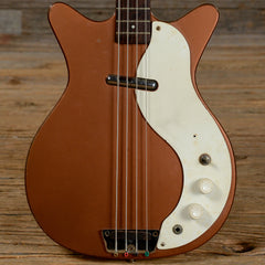 Danelectro Shorthorn Bass Copper 1960s