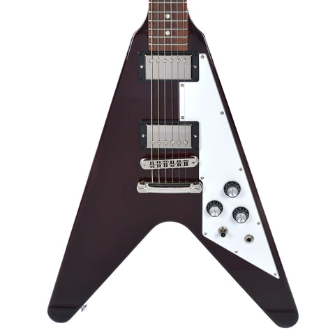 Gibson USA Flying V 2018 Aged Cherry w/Hardshell Case (s0621)