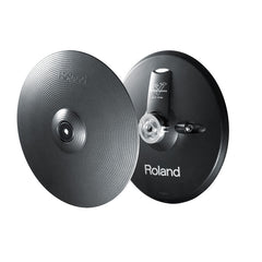 Roland VH13MG Electronic 2 Piece Hi-Hat Cymbal Pad Set Metallic Grey