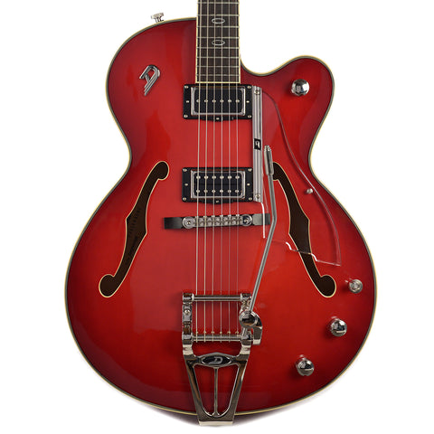Duesenberg Imperial Red Burst w/Hardshell Case