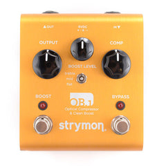 Strymon OB.1 Optical Compressor & Clean Boost Pedal w/Bass Mod