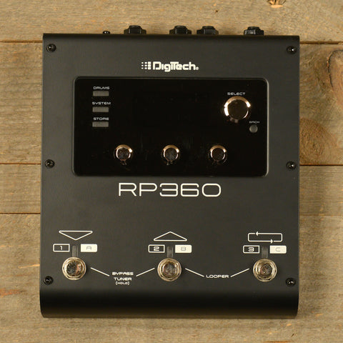 Digitech RP360 Guitar Mulit-Effect Pedal USED