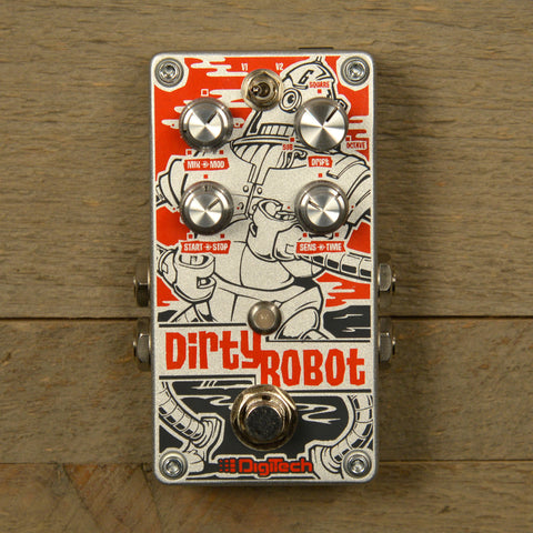 Digitech Dirty Robot Stereo Mini-Synth Pedal USED