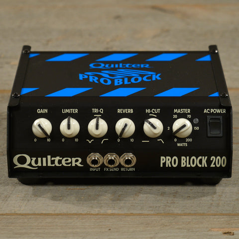 Quilter Labs Pro Block 200 Head USED