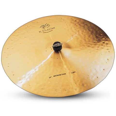 Zildjian 20 Inch K Constantinople Medium Thin Low Ride Cymbal K1113