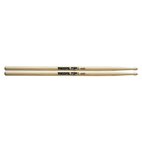 Regal Tip Jazz American Hickory Wood Tip Drumsticks