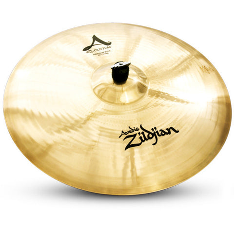 Zildjian 22 Inch A Custom Medium Ride Cymbal