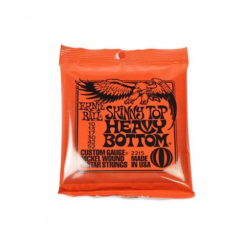 Ernie Ball Skinny Top Heavy Bot Electric Guitar Strings 10-52