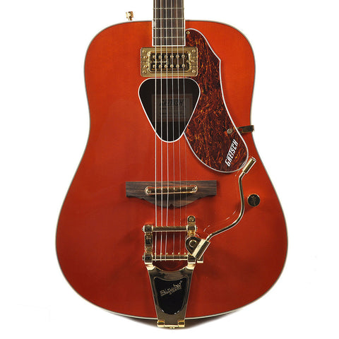 Gretsch G5034TFT Rancher Arch Top & Back Fideli-Tron Savannah Sunset w/Bigsby