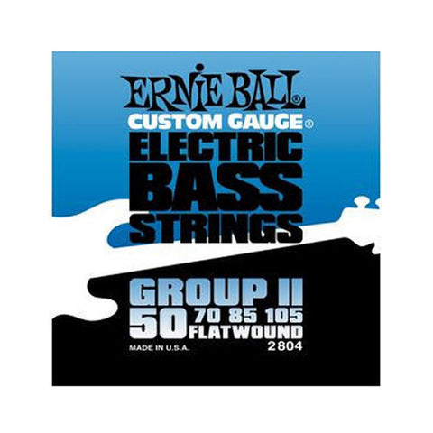 Ernie Ball Group II Flatwound Bass Strings 50-105
