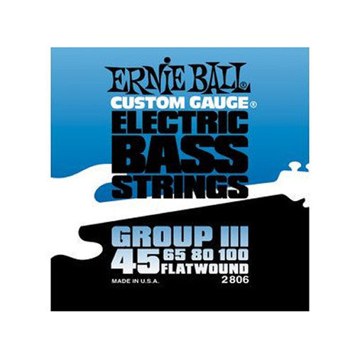 ernie ball group iii flatwound bass strings 45 100 chicago music exchange. Black Bedroom Furniture Sets. Home Design Ideas