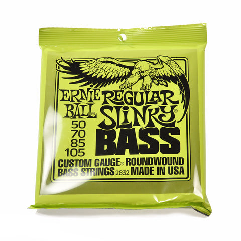 Ernie Ball Regular Slinky Roundwound Bass Strings 50-105