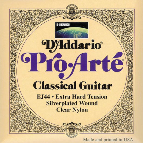 D'Addario EJ44 Pro-Arte Classical Guitar Strings Extra Hard Tension