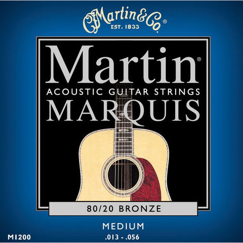 Martin M1200 Marquis 80/20 Bronze medium Acoustic Guitar Strings 13-56