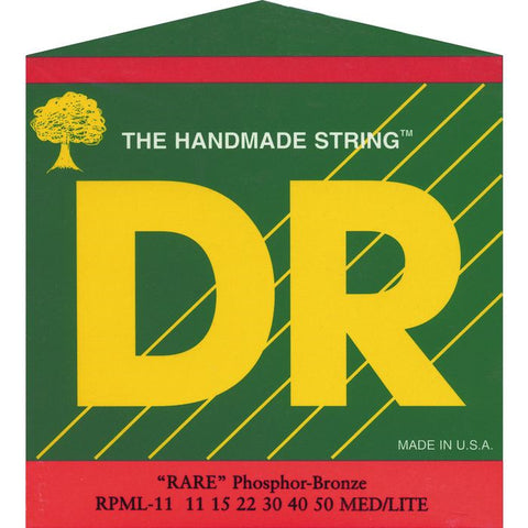 DR Strings RPML-11 Rare Acoustic Lite 11-50