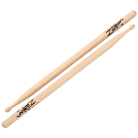 Zildjian 2B Wood Natural Drumsticks