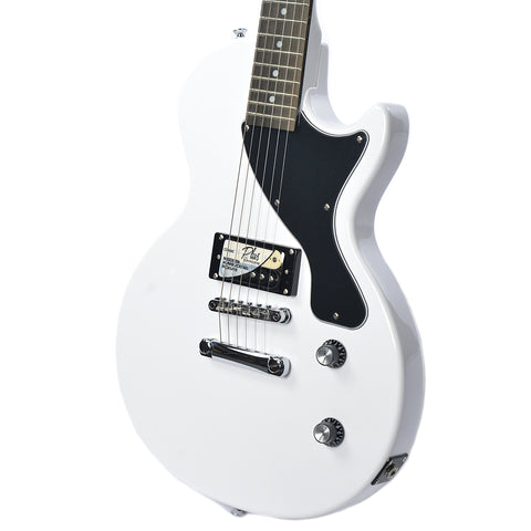 Epiphone PRO-1 Les Paul Jr. Electric Guitar Pack Alpine White w/MityPRO Mini-Amplifier