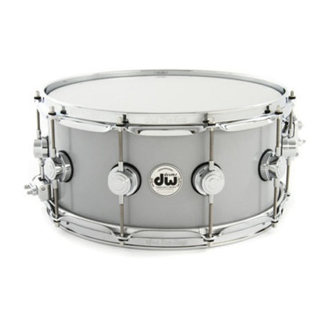 DW 6.5x14 Thin Rolled Aluminum Snare Drum