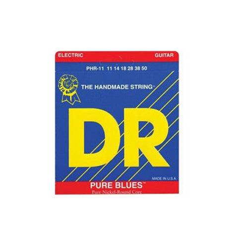 DR Strings PHR-11 Pure Blues Electric Heavy 11-50
