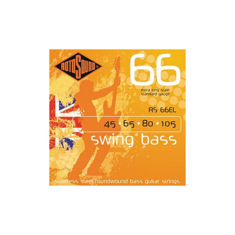 Rotosound RS66EL Swing Bass Extra Long Heavy 45-105