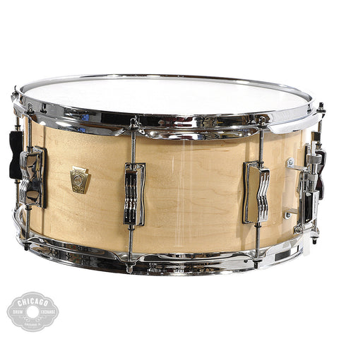 Ludwig Classic Maple 6.5x14 Snare Drum Natural Maple