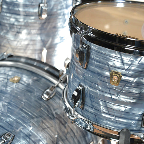 Ludwig 12/14/20 Classic Maple Kit Sky Blue Pearl w/ Free 5x14 Snare