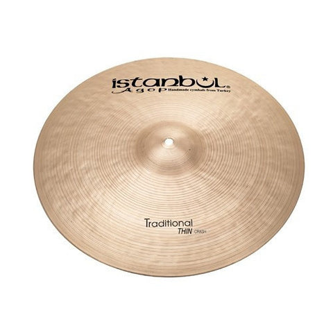 Istanbul Agop 20 Inch Traditional Thin Crash Cymbal THC20
