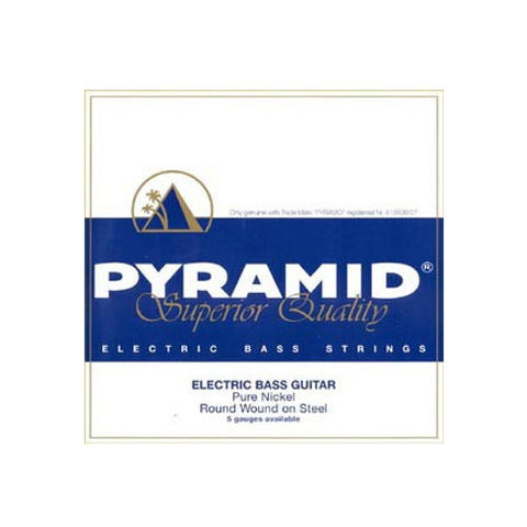 Pyramid Heavy Round Wound Nickel 5-String Bass Strings 45-130