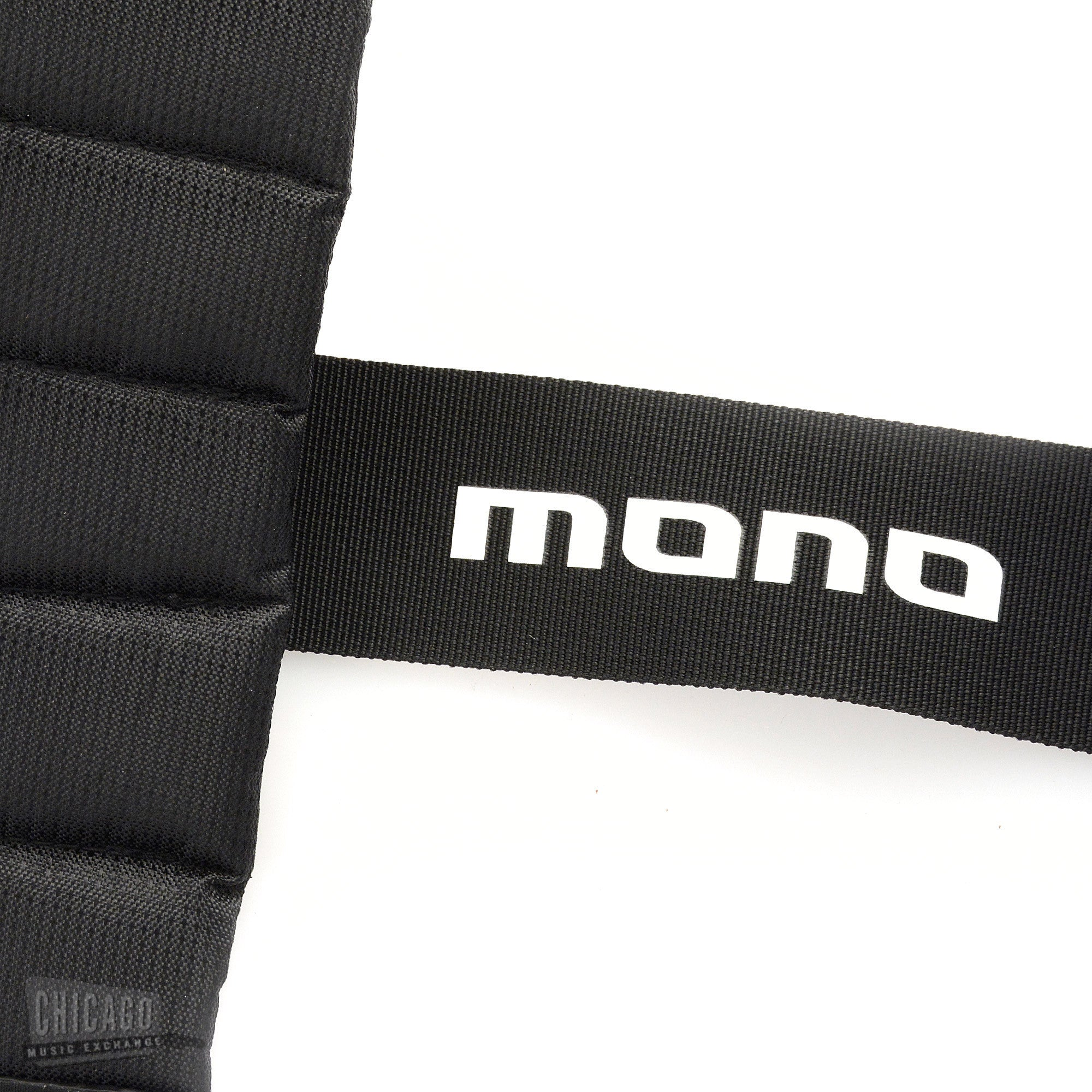 mono betty guitar strap sharkskin jet black short chicago music exchange. Black Bedroom Furniture Sets. Home Design Ideas
