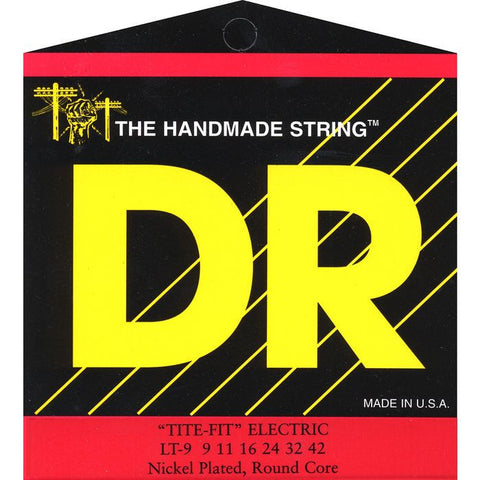 DR Strings LT-9 Tite Fit Electric Light-n-Tite 9-42