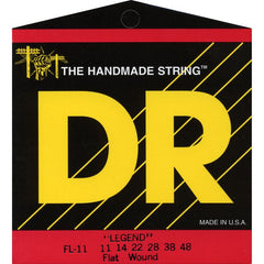 DR Strings FL-11 Legend Flatwound Electric Extra Light 11-48