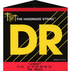 DR Strings FL-12 Legend Flatwound Electric Light 12-52