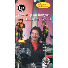 LP Adventures in Rhythm, Vol. 2: Close-Up on Bongos and Timbales DVD