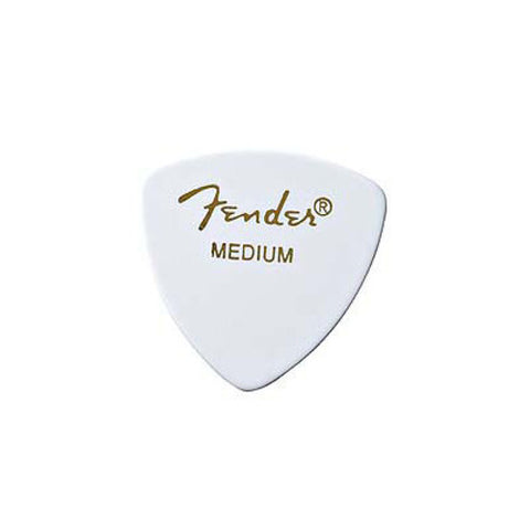 Fender 346 Medium Guitar Picks White (12)