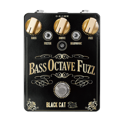 Black Cat Bass Octave Fuzz v2