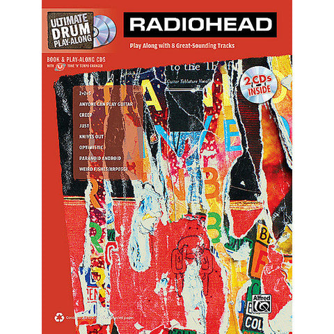 Ultimate Drum Play-along: Radiohead w/CDs