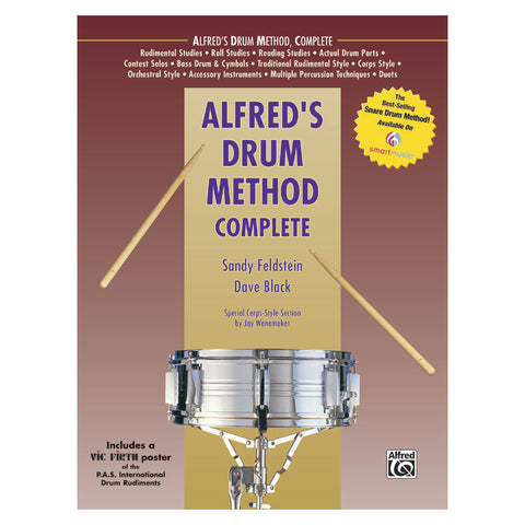 Alfred's Drum Method Complete Book