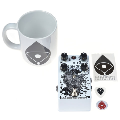 Old Blood Noise Mondegreen Delay CME Exclusive White and Black w/ Free Mug (LTD of 15)