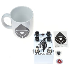 Old Blood Noise Procession Reverb CME Exclusive White and Black w/ Free Mug (LTD of 20)