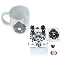 Old Blood Noise Reflector Chorus Noisemaker CME Exclusive White and Black w/ Free Mug (LTD of 10)