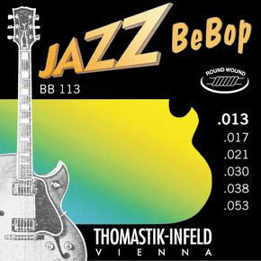 Thomastik BB113 Jazz BeBop Guitar Strings Medium Light 13-53