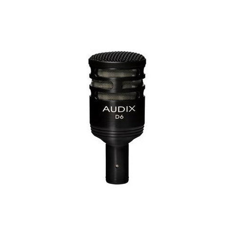Audix D6 Dynamic Cardioid Kick Mic