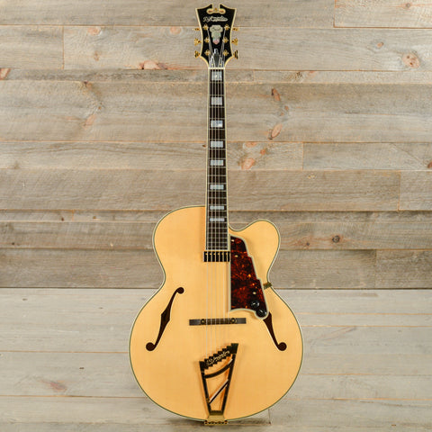 D'Angelico EXL-1 Single Pickup Archtop Natural USED (s755)