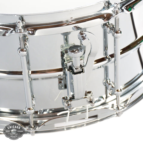Ludwig Supralite 6.5x14 Steel Snare Drum