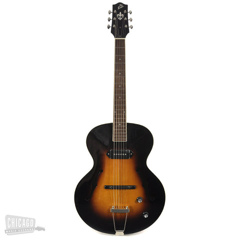 The Loar Archtop with P-90 Vintage Sunburst