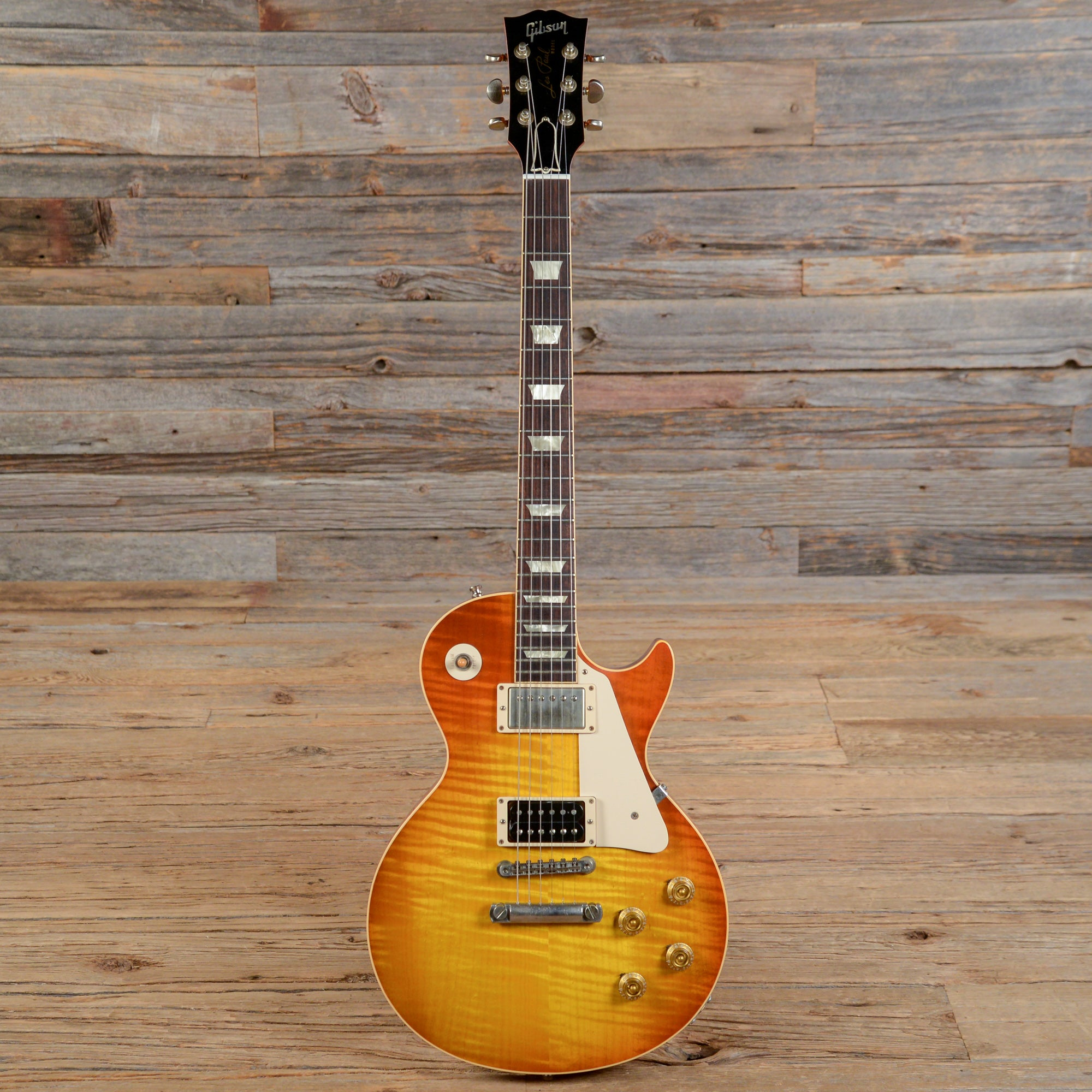 Gibson custom shop les paul jimmy page custom authentic for Jimmy page les paul color