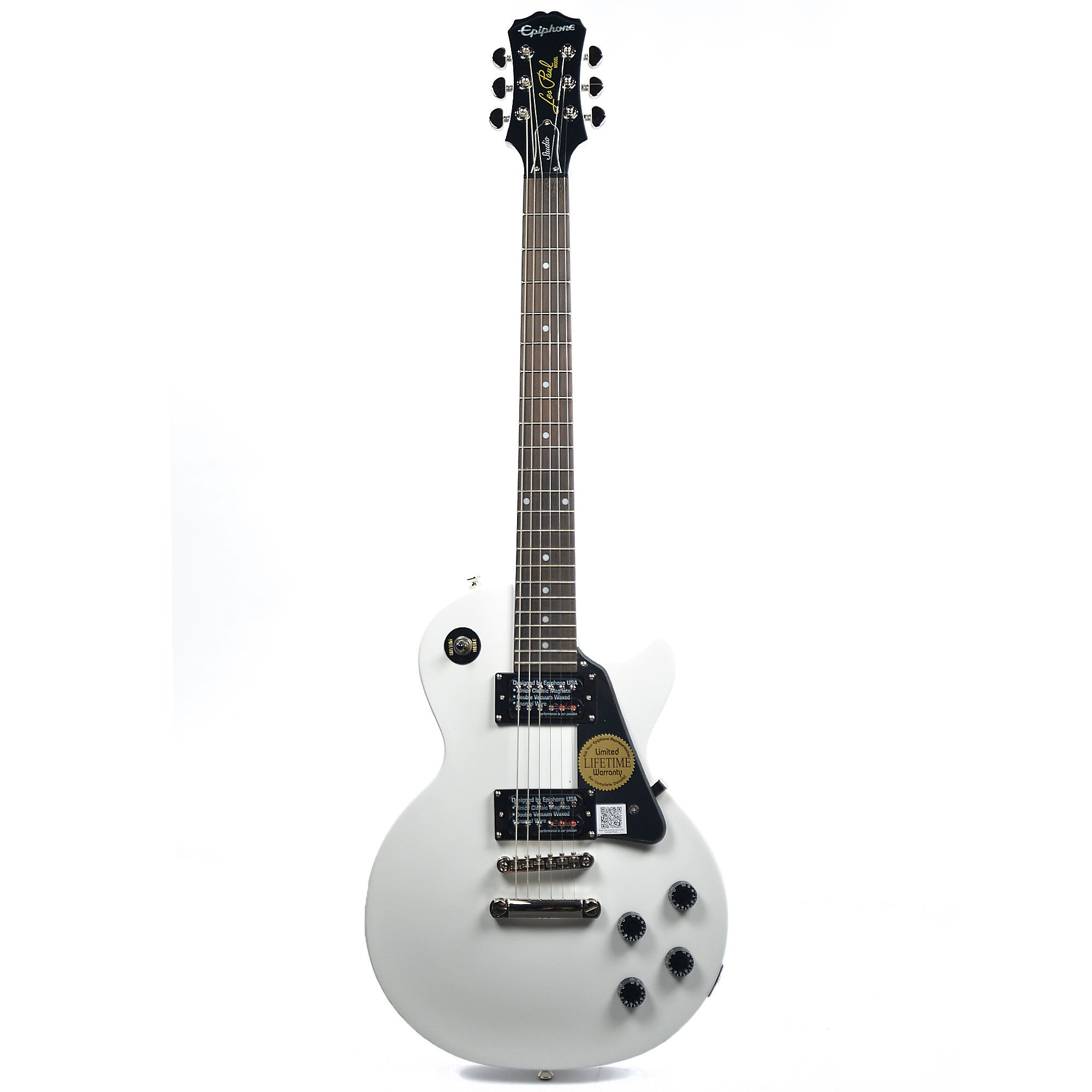 epiphone les paul studio antique white chicago music exchange. Black Bedroom Furniture Sets. Home Design Ideas