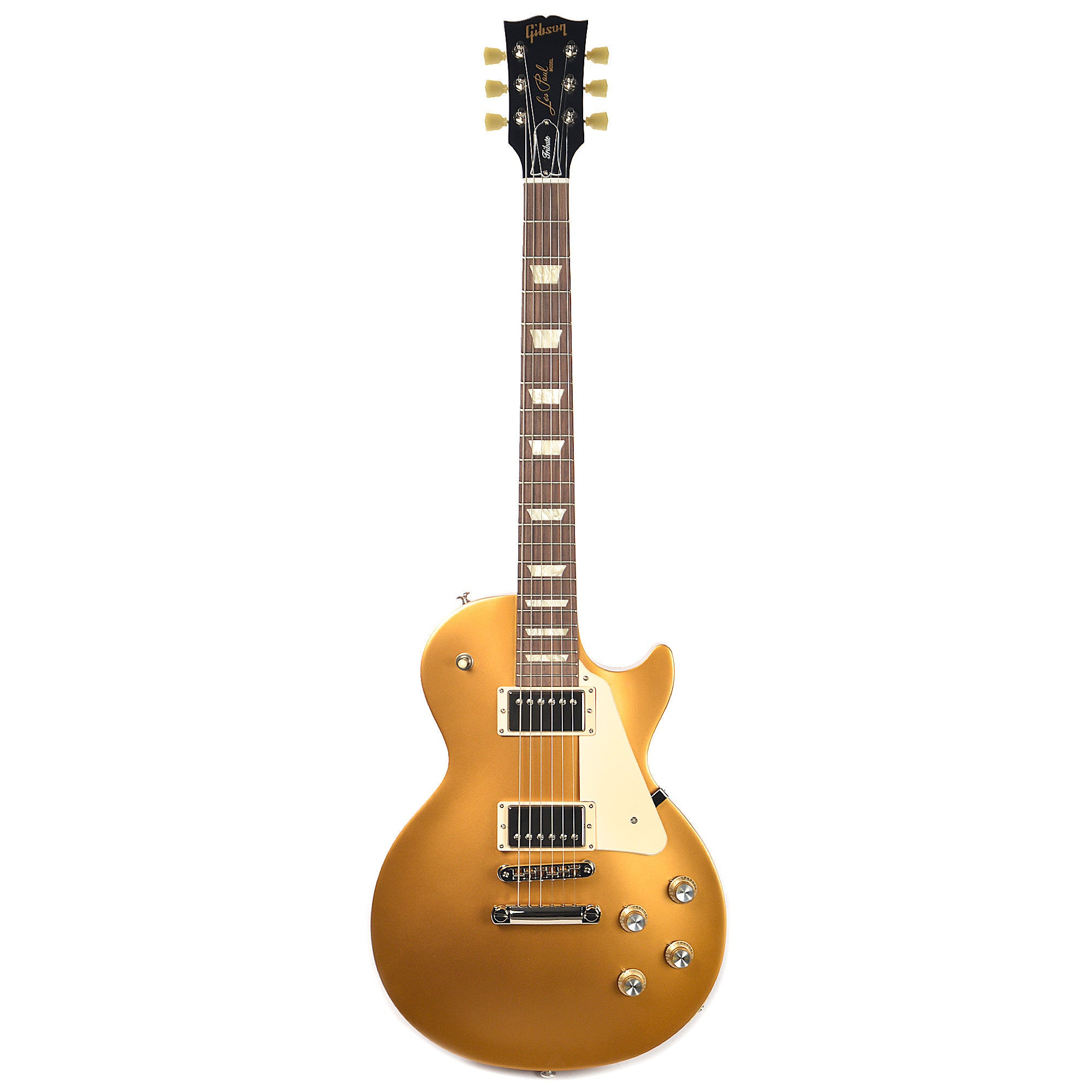 gibson usa les paul tribute t satin gold top 2017 w gig bag chicago music exchange. Black Bedroom Furniture Sets. Home Design Ideas