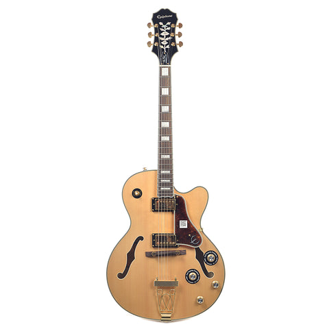 Epiphone Joe Pass Emperor-II Pro Natural GH w/ProBuckers & Coil-Tap